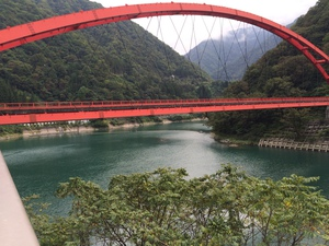 宇奈月ダム付近のサムネール画像